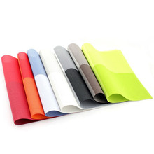 8 Color PVC Table Placemat Kitchen Dinning Waterproof Table Cloth Pad Mat Table Decoration top aulity