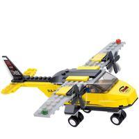 Arpa Building Blocks Space Shuttle Aviation Trainer Training Aircraft Planes Children 110pcs