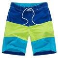 2017 Горячие Продажа Quick Dry Шорты Мужчины Случайные Свободные Моды для Мужчин Пляжные Шорты Ml XL XXL