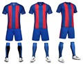 men blank soccer jerseys sets  adult plain football suits men trainning  kits sports suits short sleeve running uniforms
