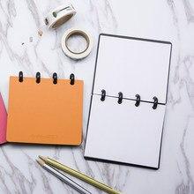 Womthenon – reliure à disque spirale pour carnet de notes, bloc-notes de poche A7, papeterie créative, fournitures scolaires et de bureau