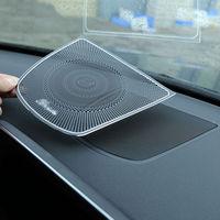 1pcs Car Burmester Design Dashboard Speaker Cover Trim for BMW X5 F15 X6 F16 2014 16