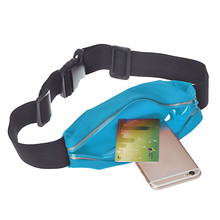 Sports Running Gym Waist Belt Bag Case Cover for iphone 6 Plus 5.5 Outdoor Sport Mountain Bike Bag