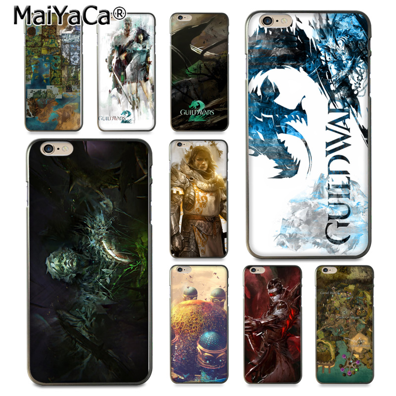 MaiYaCa Guild Wars Game wallpapers Rubber Soft Phone Accessories Cover Case for iPhone 8 7 6 6S Plus X 10 5 5S SE 5C Coque Shell