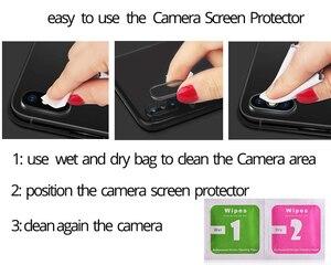 Image 5 - Redmi 9A Kamera Cam redmi note 9 Temperli Cam Ekran Koruyucu Xiaomi redmi note 9 S 9A Cam Filmi redmi note 9 8 Pro 8T ekran koruyucu