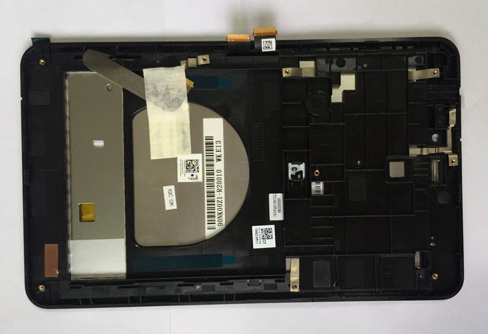 Full NEW N070ICN-GB1 LCD display+Touch Screen For Asus MeMO Pad HD7 ME175CG ME175 K00S k00z with frame liebherr icn 3356 20
