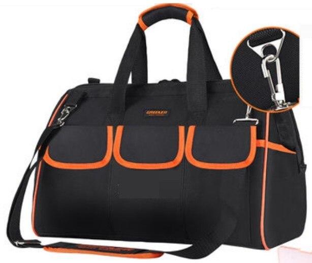 Tournevis sac à outils grande capacité perceuse électrique épaissir professionnel réparation outils sac 19 pouces sac à outils sac à main