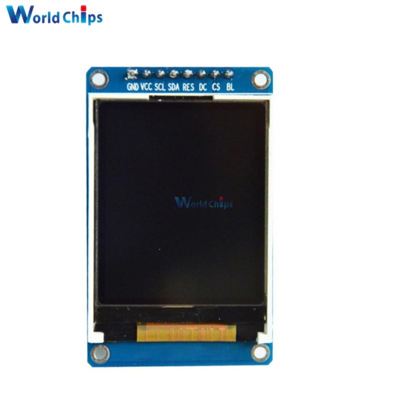 1,8 zoll Volle Farbe 128x160 Spi Volle Farbe Tft Lcd Display Modul St7735s 3,3 V Ersetzen Oled Netzteil Für Arduino Diy Kit Harmonische Farben Lcd Module