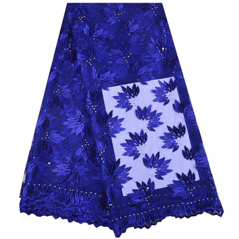 2019 High quality french lace fabric Beautiful African lace Nigeria Lace fabric dress Africa lace fabric