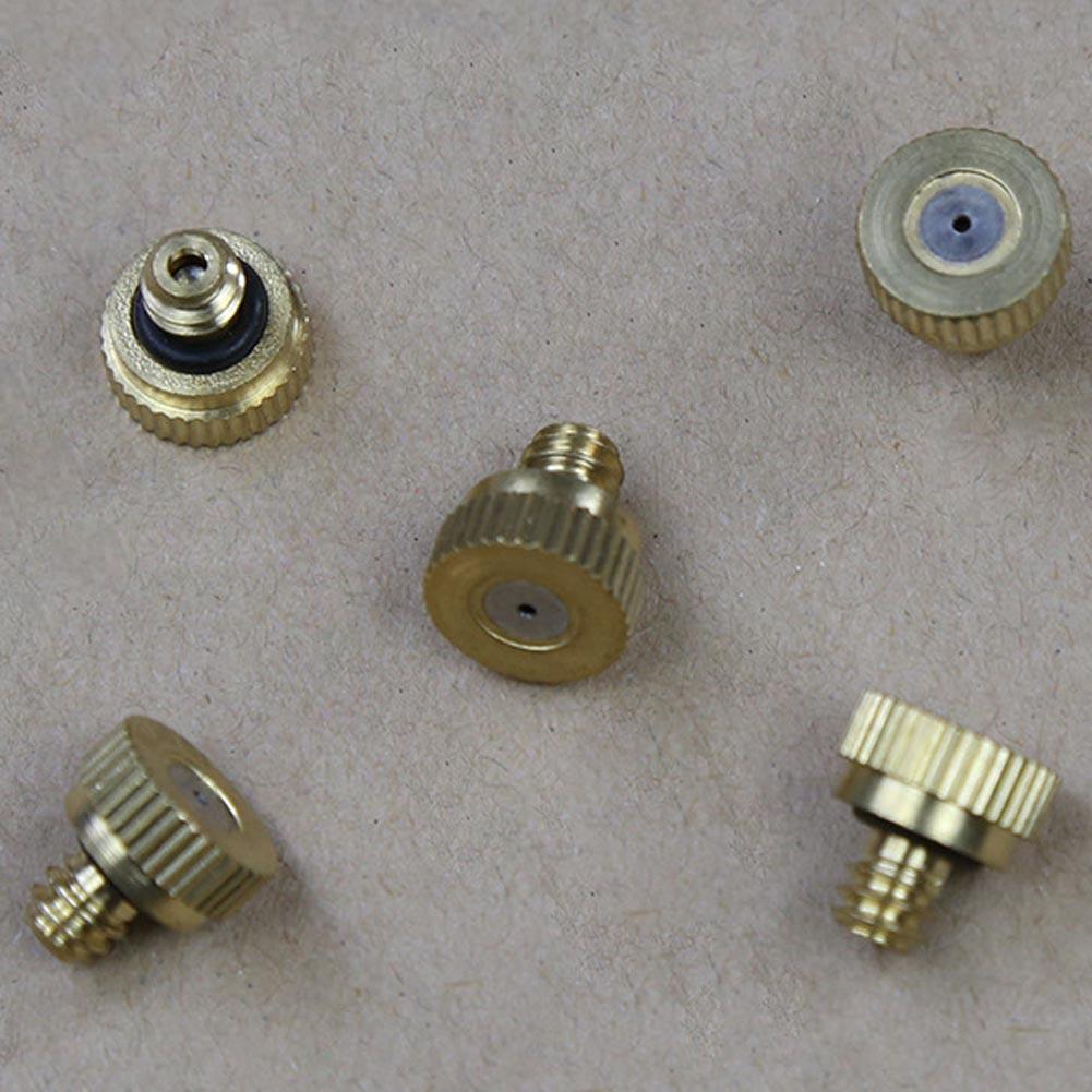 10 db sárgaréz víz ködfúvóka sprinkler fej alacsony nyomású - Elektromos szerszám kiegészítők - Fénykép 5
