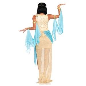 Image 4 - Ladies White Greek Goddess Costume Women Sexy Arabic Prince Fancy Dress Female Egyptian Costume for Halloween Party Dress