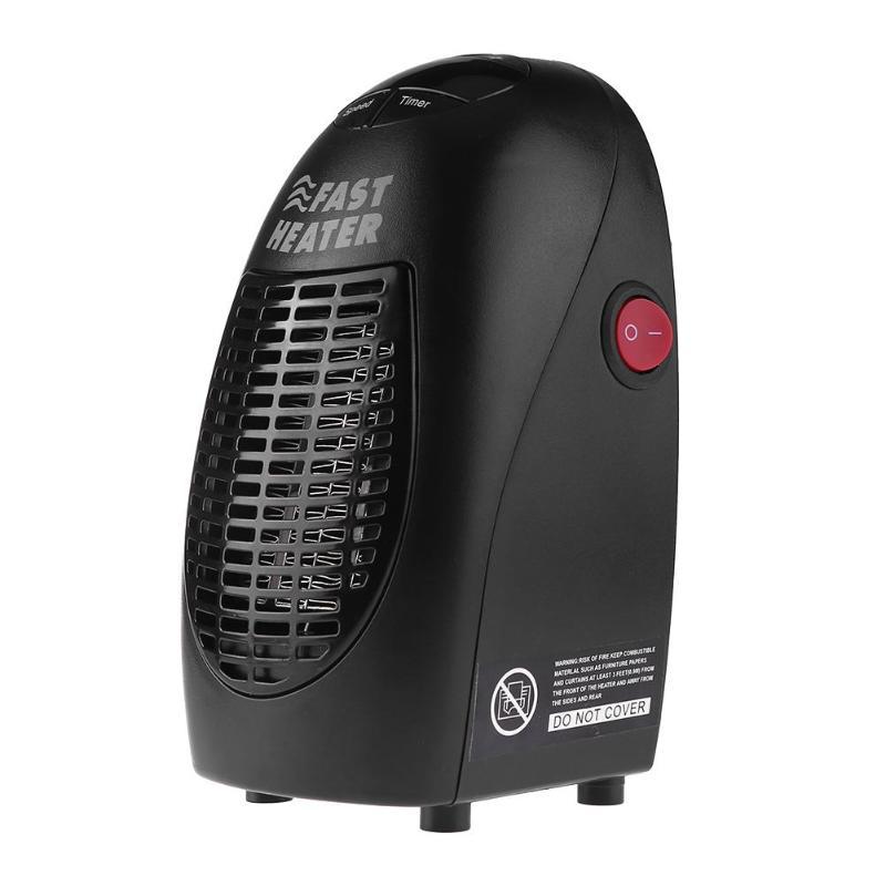 400W Mini Fan Heater Wall Mounted Electric Heater Stove Radiator Warmer Household Room Heating Fan Machine