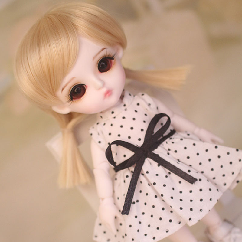 1/8 BJD Doll BJD/SD Fashion Cute Miu With Eyes For Baby Girl Gift Full Set (Doll +Clothes+Shoes +Wig ) Like Picture 1 3rd 65cm bjd nude doll bianca bjd sd doll girl include face up not include clothes wig shoes and other access