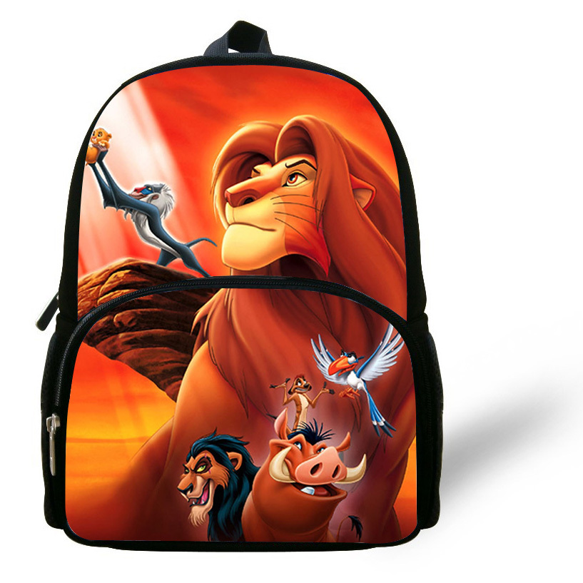 Aliexpress 12 Inch Mochilas Infantis Little Boys Bags Children Backpack The Lion King School Bag Simba Print Cartoon Kids S From