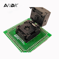 QFN IC Programmer Socket IC550 0324 007 G Pitch 0 5mm Clamshell Chip Size 5 5
