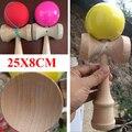 Kendamas для гигантский kendama сша мяч умелые жонглирование игра диаметр 8 см игрушка шары образовательный игрушки для взрослые дети