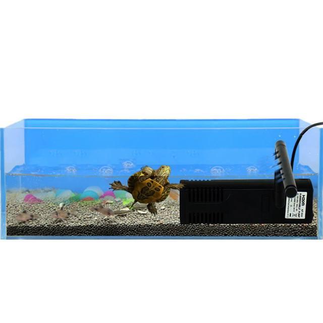 Pompe à eau 220v-240v 3/4/8/22W   Filtre daquarium, filtre Submersible, réservoir de poissons, fontaine détang, pompe à Air et filtre interne