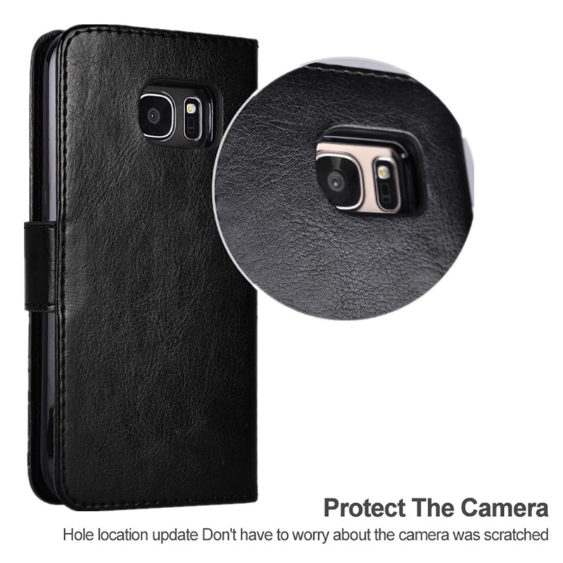 Samsung Galaxy S7 Edge Case- ի շարժական կաշվե - Բջջային հեռախոսի պարագաներ և պահեստամասեր - Լուսանկար 4