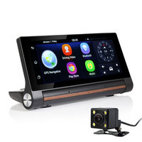 New 7 Inch 3G GPS Navigation Android 5 0 Bluetooth WiFi DVR HD 1080P Dash Camera