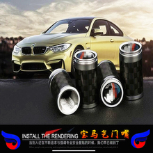Free Shipping Theftproof Stainless Steel Diamond 4PCS Car Wheel Tire Valves Tyre Stem Air Caps Airtight Cover for BMW Series