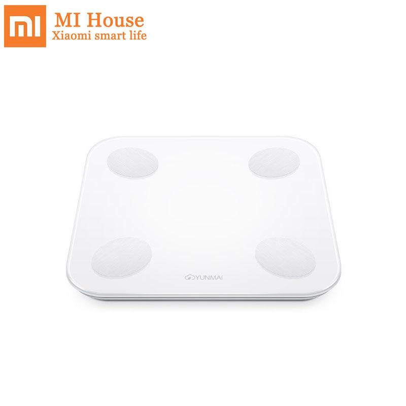 Original Xiaomi Intelligent YUNMAI Mini 2 Balance Smart Body Fat Weight Scales English APP Control Hidden