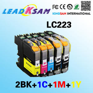LC223 5 PCS compatible ink cartidge for Brother LC223 MFC-J4420DW MFC-J4620DW MFC-J4625DW