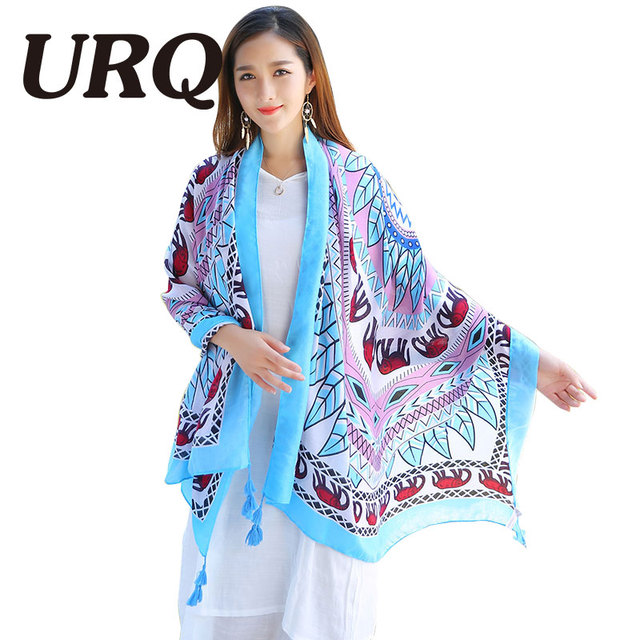 big size leaf scarfs elephant print shawl tassel scarf for women from india shawl scarves pashmina cotton voile scarf 2016 new