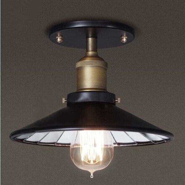 vintage rustic industrial ceiling light europe hallway lamp fixtures dining room black ceiling lamp metal loft cheap rustic lighting
