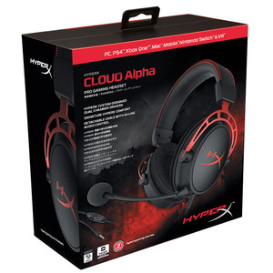 Image 5 - Kingston E sports Headphones With a microphone Black Gold Limited Edition HyperX Cloud Alpha Gaming Headset For PC PS4 Xbox