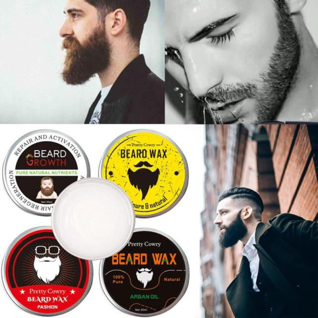 Halloween Men Beard Balm Leave Moisturizing Care Cream Beard Care Lubricating Cream 30g 8.16