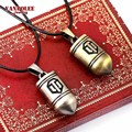 Online Game World of Tanks Necklace WOT Metal Alloy Bullet Pendent Necklace High Quality Game Theme Jewelry For Women And Men