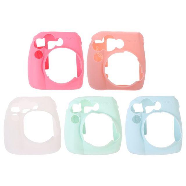 Cute Soft Silicone Camera Bag Jelly Case Skin Cover For Fujifilm Instax Mini 8/8+/9