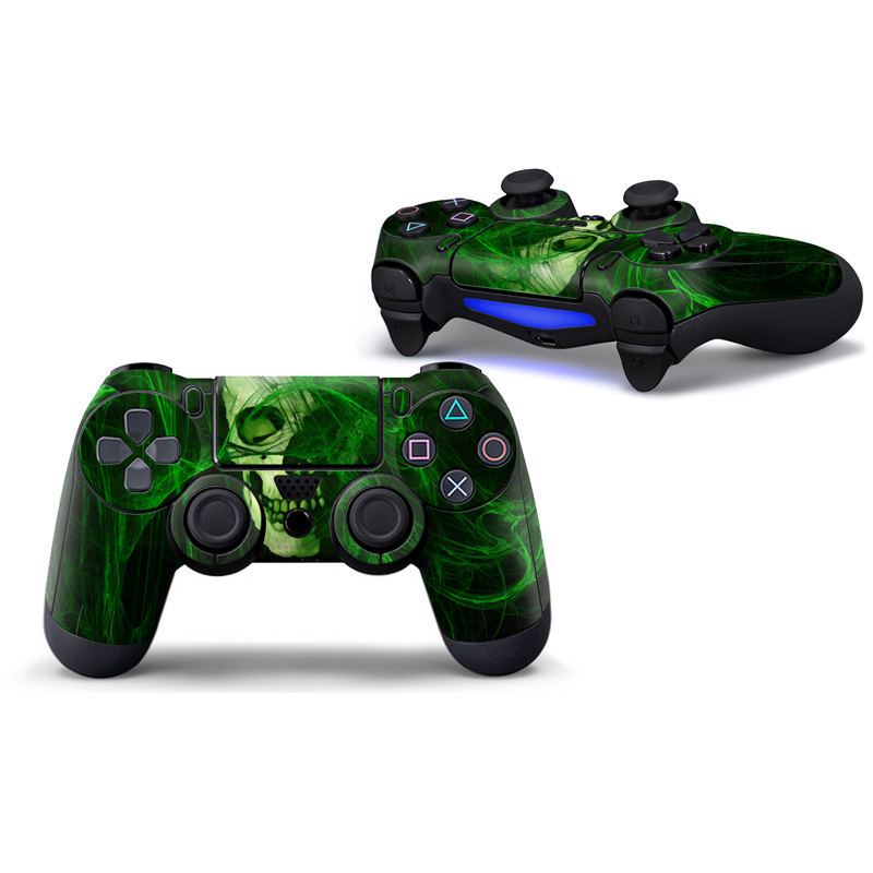 2PCS Matte surface controller sticker for sony playstation 4 ps4 controller skin sticker ...