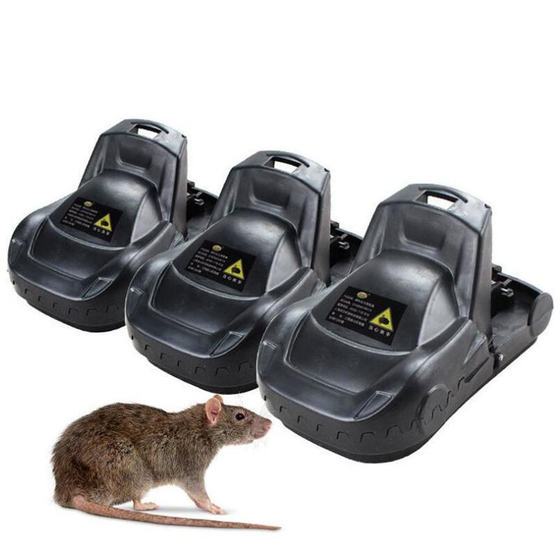 Highly sensitive Non-toxic mouse traps Snap Spring Animalrat rat critter Mousetrap catcher Bait Rodent Hamster Cage Pest Control image