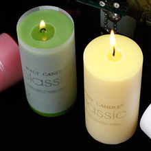 Floral Colour Creative Candle Classic Cylinder Scented Candles Wax Bougie Mariage Velasweding Decoration Bougies 50KO316