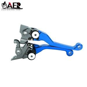 Image 2 - JAER CNC Kütük Pivot Katlanabilir fren debriyaj Kolları Için Kawasaki KLX250 D TRACKER 1993 1994 1995 1996 1997