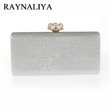 Evening Bag Lady Women Party Wedding Glitter Clutch Case Box Handbag Purses Hight Fashion Elegant Shoulder SFX-A0049