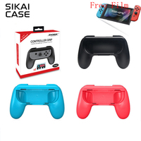 SIKAI 2pcs Hand Grip Kit Stand Support Holder Case For Nintendo Switch Joy Con Control High
