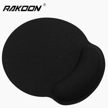 лучшая цена Wrist Rest Mouse Pad Non-Slip Base Superfine Fibre Memory Foam Wrist Rest Pad Ergonomic Mousepad for Office Gaming PC Laptop