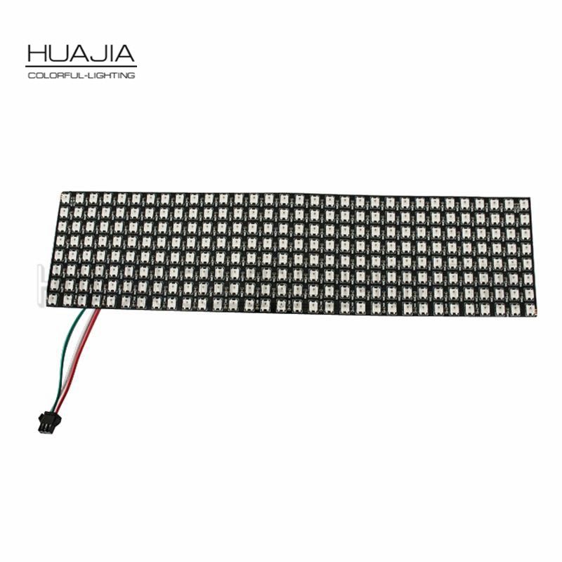 1PCS 8*8/16*16/8*32 WS2812B 256 Pixels Digital Flexible LED Programmed Panel Screen Individually Addressable Full Color DC5V 5050 rgb ws2812 full color display board dc5v 8 8 16 16 8 32 64 256 leds addressable flexible pixel panel screen