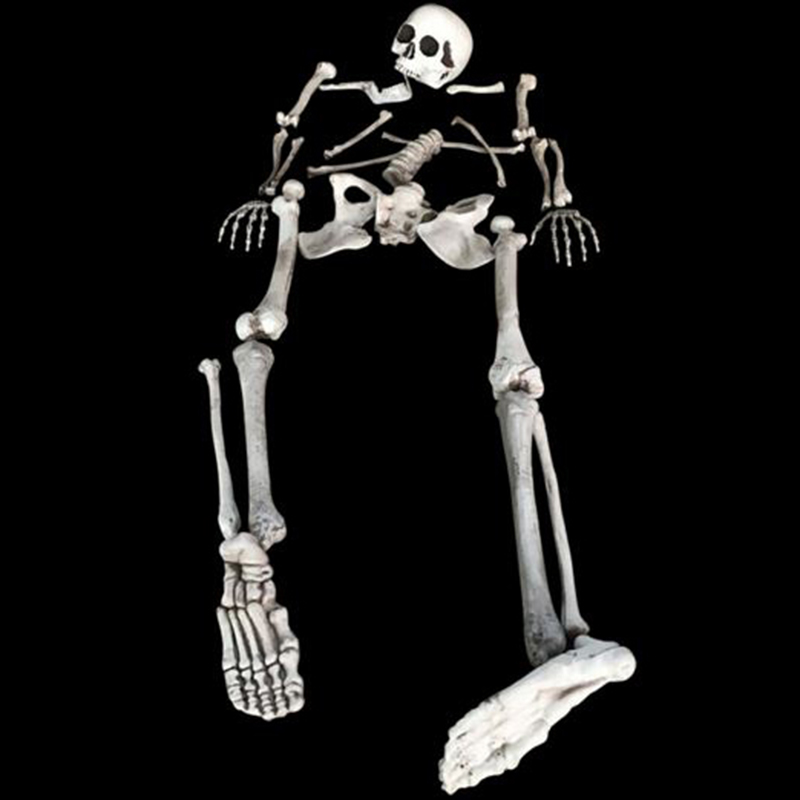 Buy 27pcs bag of bones skeleton human for Bag of bones halloween decoration