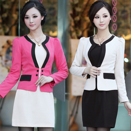 Spring 2014 Women S Office Suite European Style Fashion Career Suit