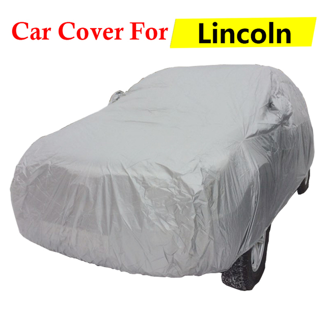 Car Cover Anti-UV Sun Shield Rain Snow Scratch Resistant Dust Proof Auto Cover For Lincoln Aviator Continental Zephyr MKZ