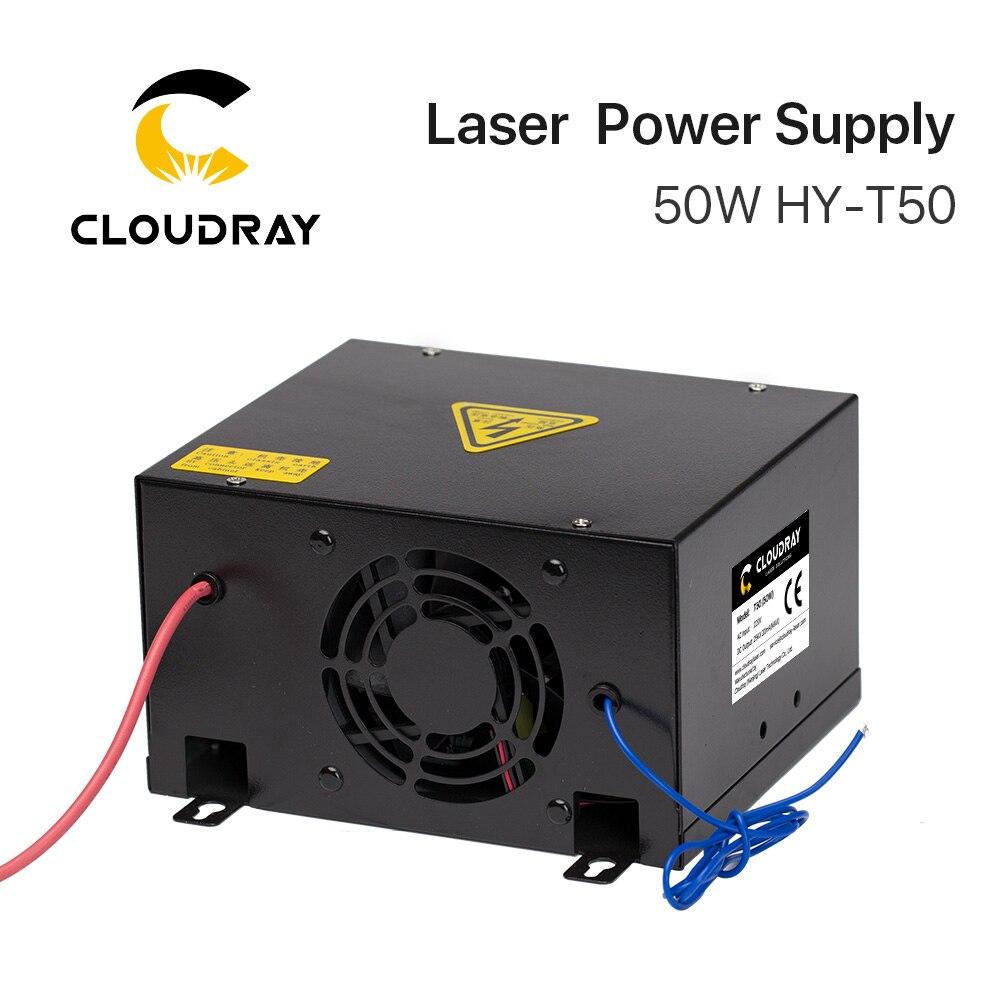 """""""Cloudray"""" 50 W CO2 lazerio maitinimo šaltinis, skirtas CO2 - Medienos apdirbimo mašinų dalys - Nuotrauka 3"""