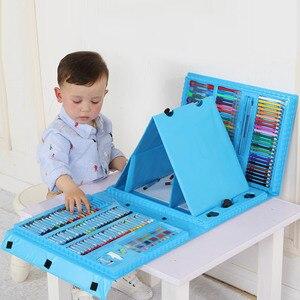 Image 3 - Набор цветных карандашей 176 шт., набор для рисования, набор для рисования, маркер, ручка, кисточки, набор инструментов для рисования, товары для детского сада