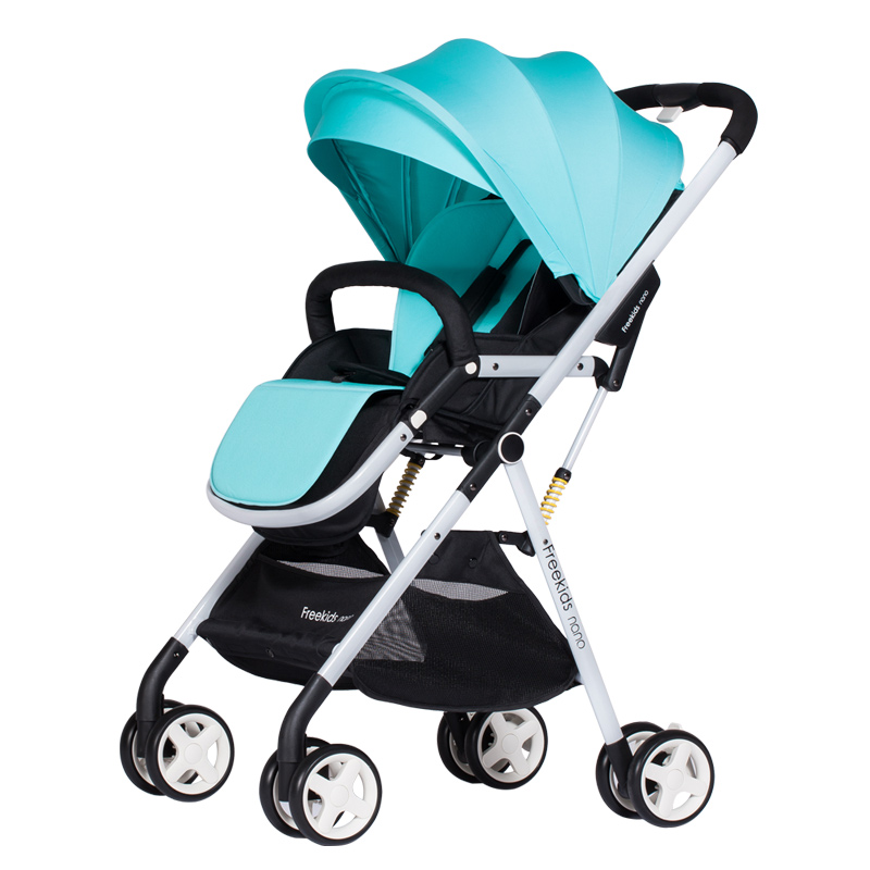 Folding light Stroller Freekids Baby Car Ultra-light Portable Child Trolley Suspension Folding Umbrella Strollers Travel Pram free shipping new arrival 4in1 photon ultrasonic led electric facial massager body face beauty skin care multi functional