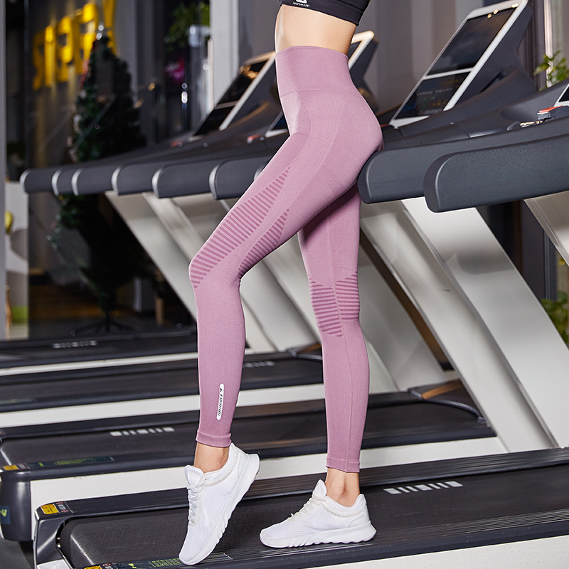 04f50b888f NEW Women High Elastic Waist Hollow Breathable Yoga Pants Sexy Hip Solid Fitness  Sport Pants Tight