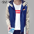 2017 Spring New Brand Mens Jackets and Coats Homme Thin Male Outwear Clothing Hooded Windbreaker Bomber Jacket jaqueta masculina
