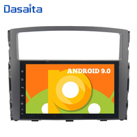 Car 1 Din 9 Touch Screen Android 9.0 Radio for Mitsubishi Pajero V97 V93 2006 2007 2008 2009 2011 Car Stereo 16GB ROM GPS