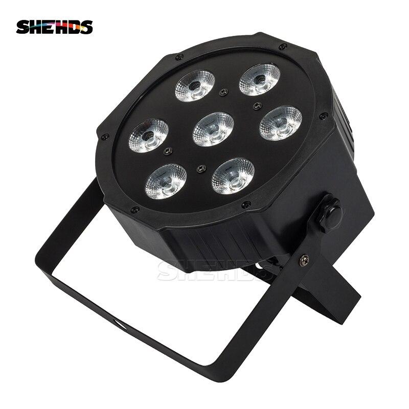 LED Par 7x12W RGBW 4IN1 Pencahayaan Profesional Untuk Atap Effec Peringkat Atmosfera DJ Disco Kelab Muzik Dance Floor Penghantaran
